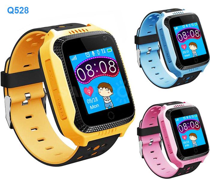 детские часы-телефон q528