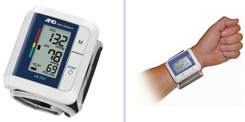 электронный браслет с измерением пульса и давления