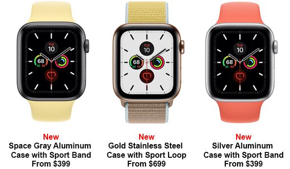 цена apple watch 5