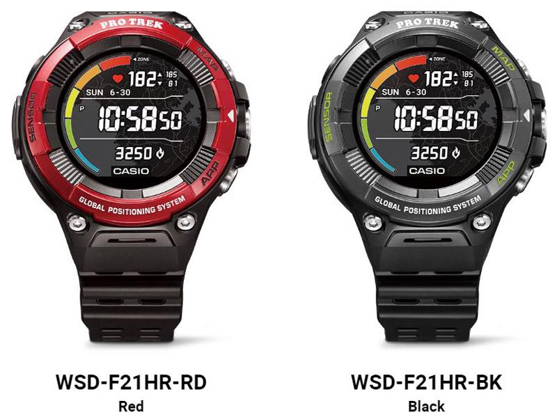 Casio Pro TREK WSD F21HR
