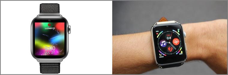 Смарт-часы с сим-картой lemfo lem10