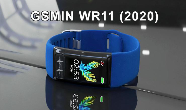 фитнес браслет GSMIN WR11 2020