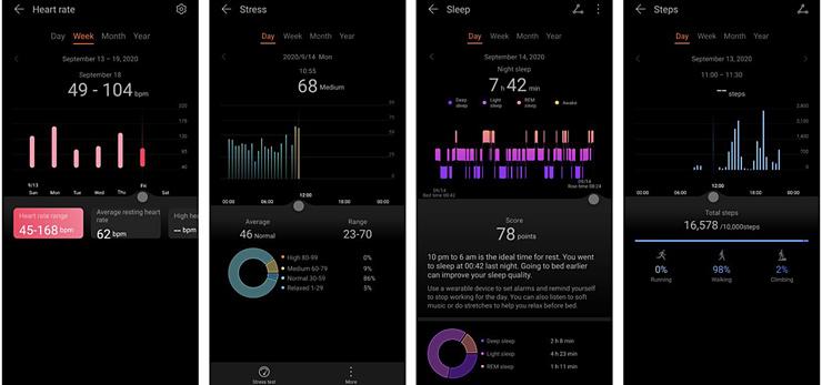 Huawei Health приложение
