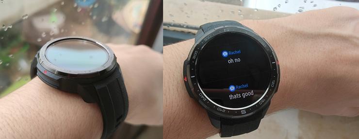 Габариты Watch GS Pro