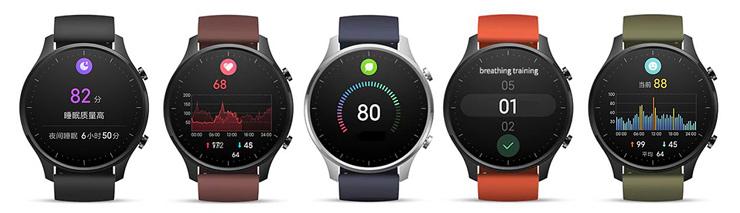 Mi Watch Color функции