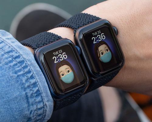 Watch Series 6 размеры