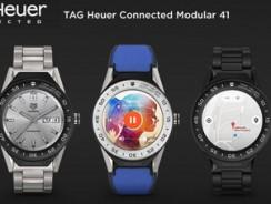 Tag Heuer представила смарт-часы премиум класса Connected Modular 41