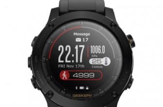 Geekery IronCloud – смарт-часы с зарядом на 50 дней