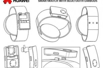 В новых смарт-часах Huawei Watch 3 будет слот для хранения гарнитуры?
