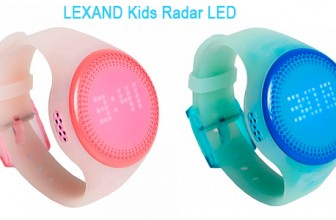 LEXAND представила детские GPS часы Kids Radar LED