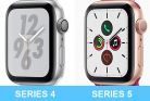 Сравнение Apple Watch Series 4 и Series 5