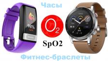 Лучшие часы и браслеты с пульсоксиметром (SpO2)