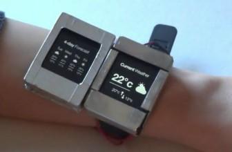 Умные часы Doppio используют два дисплея вместо одного