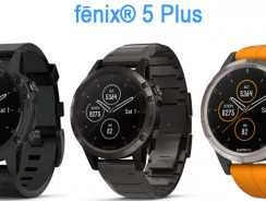 Garmin выпустила три новых модификации часов Fenix 5 Plus