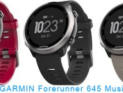Garmin презентовала беговые часы Forerunner 645 Music