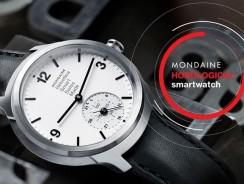 Новые гибридные часы Mondaine проработают 2 года на одном заряде