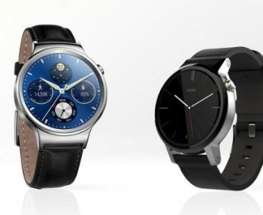 Умные часы Huawei Watch против Moto 360 2-го поколения