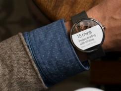 Презентованы «умные часы» Motorola Moto 360