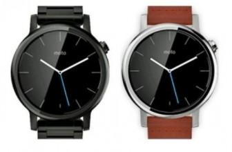Motorola готовит новые часы из серии Moto 360
