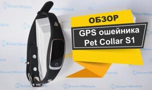 Обзор GPS ошейника для собаки S1