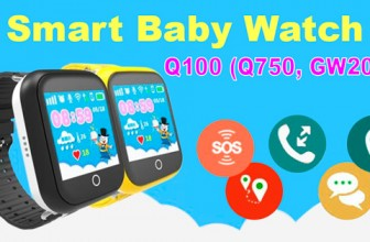 Обзор детских GPS часов Smart Baby Watch Q100 (Q750 или GW200S)