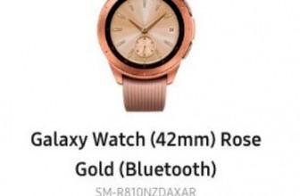 Samsung Galaxy Watch показались в интернете раньше срока