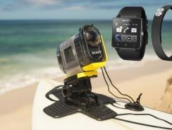 С Sony Smartwatch 2 можно будет управлять камерами Sony