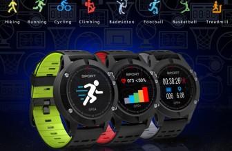 No.1 F5 – смарт-часы с GPS всего за 3000 рублей